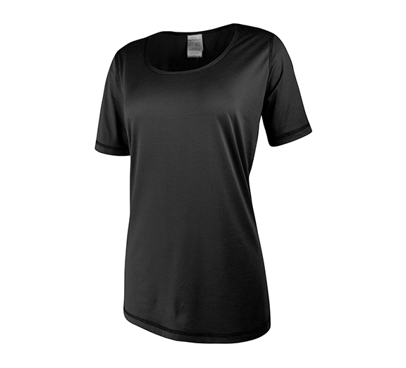 by Running Bare Running Bare Classic Workout Performance Tee