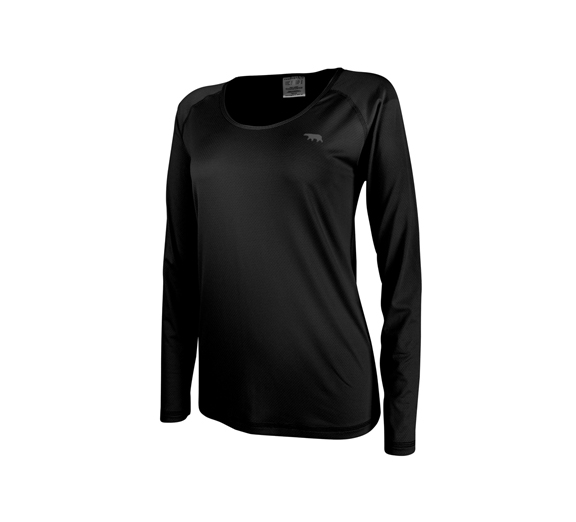 by Running Bare Running Bare Dawn To Dusk Long Sleeve Marathon Tee