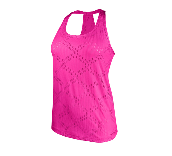 by Running Bare Running Bare Like A Diamond Mesh Workout Tank