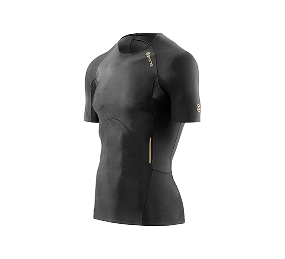 by Skins Skins Mens A400 Short Sleeve Top