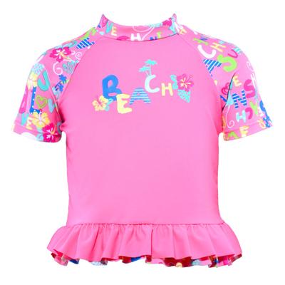 Vest by Cupid Girl Skool's Out Short Sleeve Rash Vest