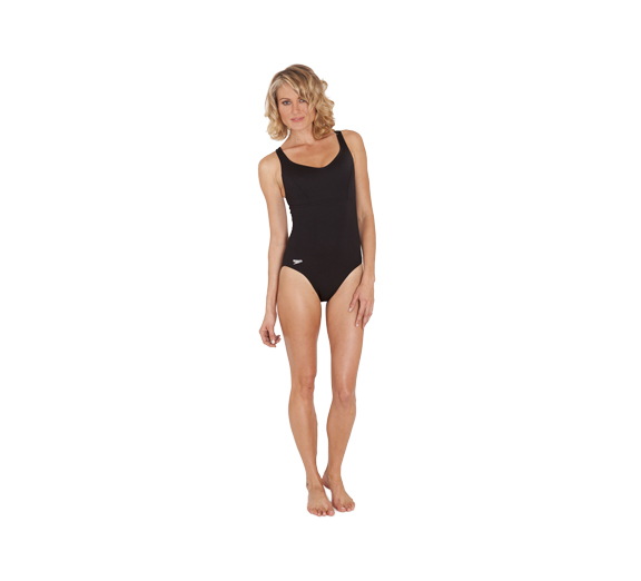 by Speedo Speedo Endurance Contour Clip Back Black Womens