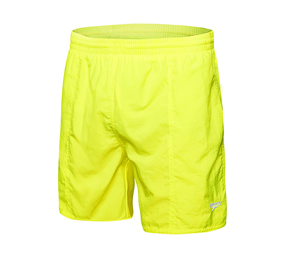 by Speedo Speedo Mens Solid Leisure Short Yellow