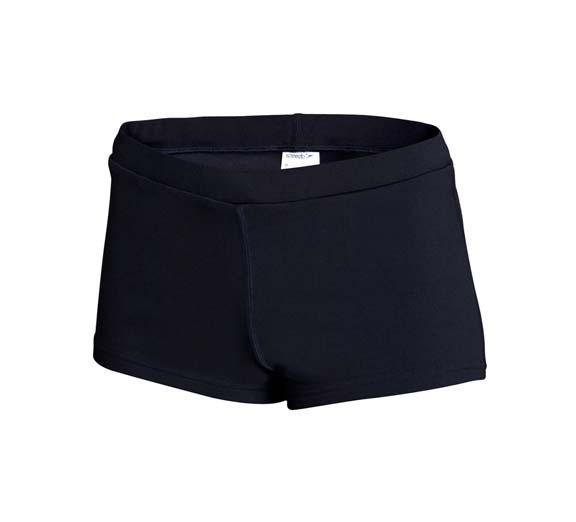 by Speedo Speedo Womens Boy Leg Short Black