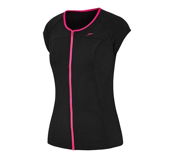 by Speedo Speedo Womens Cap Sleeve Sun Top