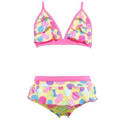 Bikini Brief by Cupid Girl Spot The Dot Frill Bikini Set