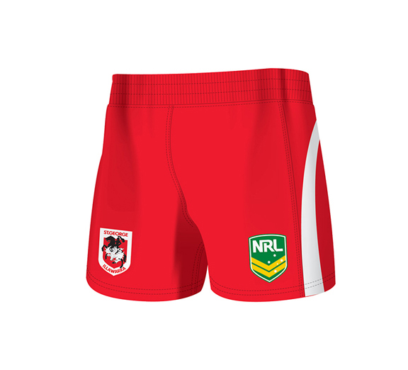 by ISC St George Dragons Away Supporter Short 2 Pack