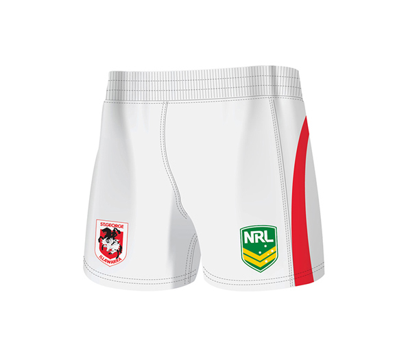 by ISC St George Dragons Home Supporter Short 2 Pack