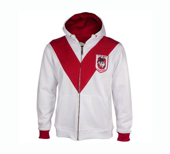 by Classic St George Illawarra Dragons Youth Heritage Hoodie