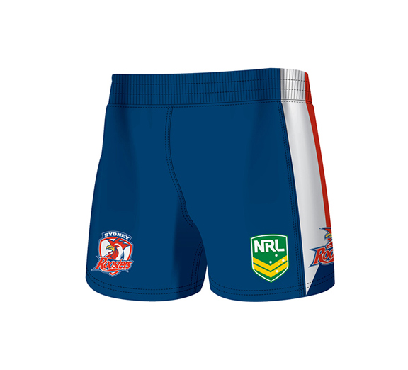by ISC Sydney Roosters Away Supporter Shorts 2 Pack