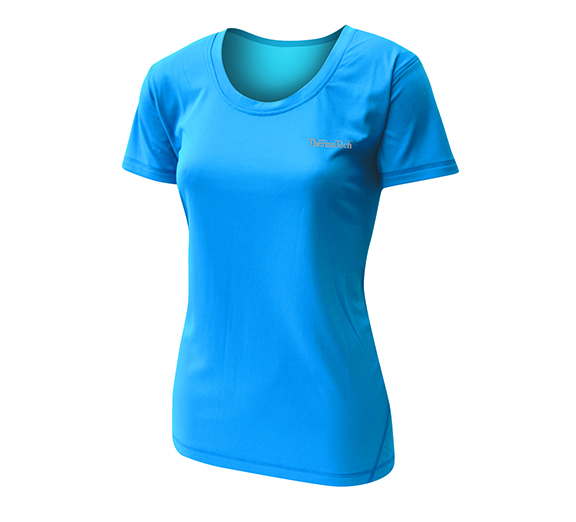 by ThermaTech ThermaTech Womens UPF50 Base Training Tee