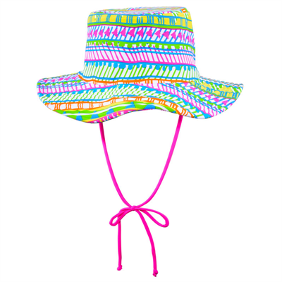 Hat by Cupid Girl Tribal Paint Hat