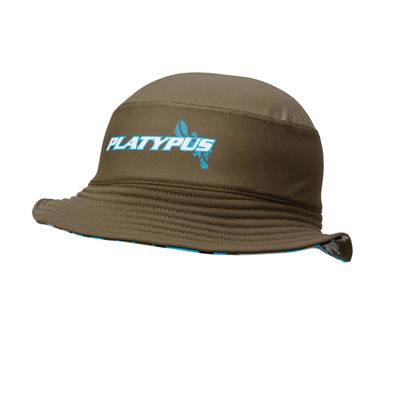 Hat by Platypus Turq Camo Sun Hat