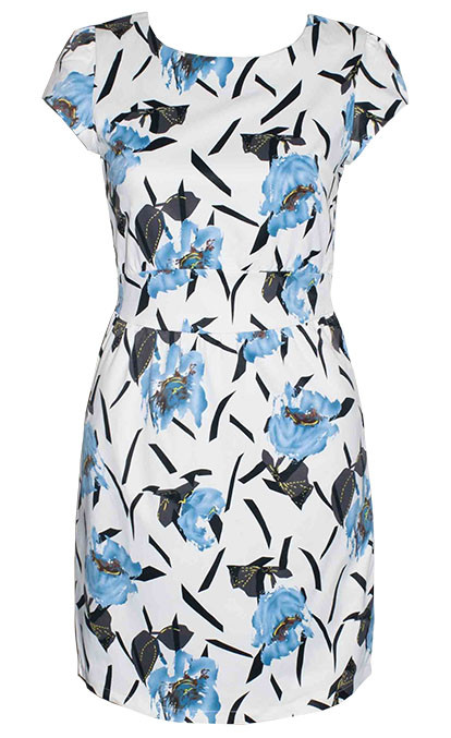 by Little Party Dress Vera Blue Floral Dress