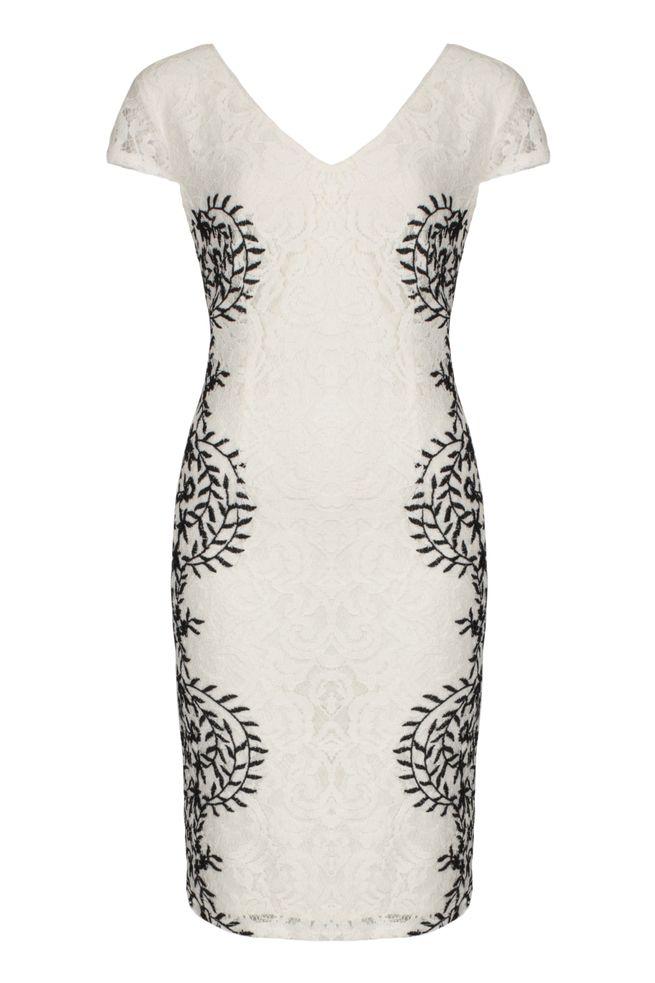 by Queenspark White Miramare Dress