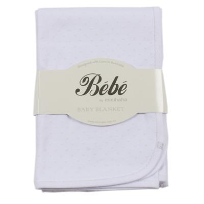 Piece by Bebe by Minihaha White Spot Bunny Rug